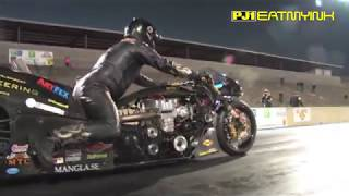 Download Rikard Gustafsson's first 5 second Top Fuel Motorcycle pass Video