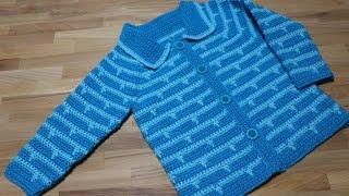 Download Como tejer Sueter o Abrigo para niña de 6 a 7 años parte 2 de 2 Video