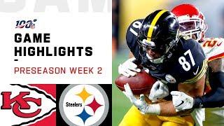 Download Chiefs vs. Steelers Preseason Week 2 Highlights | NFL 2019 Video