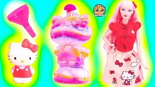 Download Rainbow Sand Art Craft Kit with Hello Kitty Barbie Doll - Toy Video Cookie Swirl C Video
