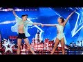 Libby & Charlie put their best feet forward! | Auditions | BGT 2019