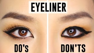 Download 12 COMMON EYELINER MISTAKES YOU COULD BE MAKING | Do's and Dont's Video