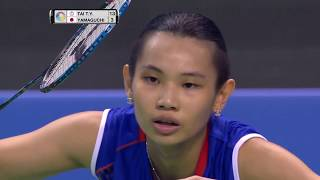 Download Yonex French Open 2017 | Badminton F M4-WS | Tai Tzu Ying vs Akane Yamaguchi Video