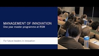 Download MSc in Management of Innovation Video