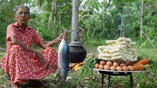 Download Tuna Fish Noodles - cooking 50 instant noodles in my village by Grandma Video