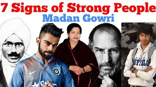 Download 7 Signs of Strong People   Tamil   Madan Gowri   MG Video