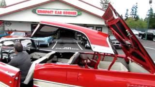 Download 1958 FORD FAIRLANE 500 SKYLINER CONVERTIBLE SUPER RARE CAR . ! Video