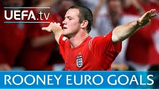 Download Wayne Rooney: Watch all of his EURO goals for England Video