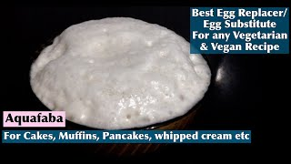 Download Best Egg Replacer for Any Recipe | How to make Egg Substitute/Aquafaba | Eggless Cooking Video