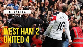 Download Classic Match: West Ham 2-4 Manchester United (2011) Video