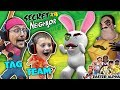 Download HELLO NEIGHBOR gets TROLLED! EASTER ALPHA HIDE n SEEK Time! (FGTEEV plays Secret Neighbor #4) Video