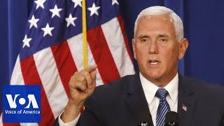 Download Vice President Mike Pence's China Speech at Hudson Institute Video