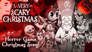 Download A VERY SCARY CHRISTMAS | Horror Game Xmas Song! FNAF, Bendy, Baldi, DDLC and more! Video