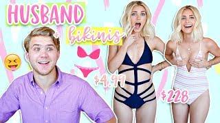 Download HUSBAND Guesses Cheap vs Expensive BIKINIS! | Aspyn Ovard Video