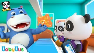 Download Spring Vacation with Baby Panda | Kids Pretending Play | Profession Song for Kids | BabyBus Video
