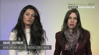 Download HackForGood Salamanca - SAL05 - EasyMoves - Manejar una silla de ruedas con el móvil | MEDIALAB USAL Video