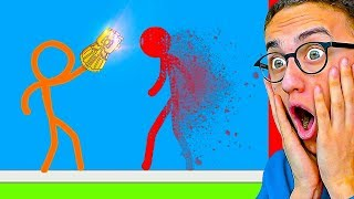 Download Reacting To THE BEST STICK FIGHT ANIMATIONS! Video