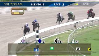Download Gulfstream Park August 23, 2019 Race 2 Video