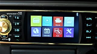 Download Quick Unbox + Table test of My New Bluetooth HD Car Stereo 60$ Video
