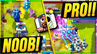Download Clash Royale 2v2 with RANDOMS vs PRO TEAM MATES!? Video