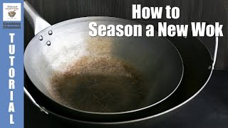 Download How to Season a New Wok   Malaysian Chinese Kitchen Video