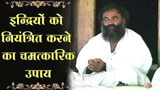 Download इन्द्रियों को नियंत्रित करने का चमत्कारिक उपाय । Rare Old Satsang । Sant Shri AsharamJi Bapu Video