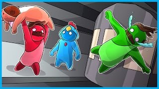 Download THE MOST I'VE EVER LAUGHED...EVER!! - Gang Beasts Funny Moments Ep. 2! Video