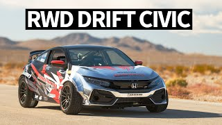 Download 900hp RWD Honda Civic... Drift Car!? SEMA 2019 Madness Begins Video