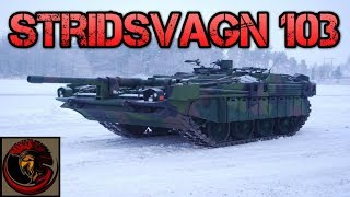 Download Swedish Stridsvagn 103 (Strv 103) S-Tank Video