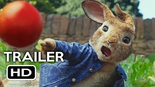 Download Peter Rabbit Official Trailer #2 (2018) Margot Robbie, Daisy Ridley Animated Movie HD Video