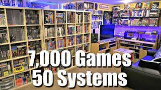 Download GAME ROOM TOUR - 7,000 Games + 50 Systems - METAL JESUS ROCKS Video