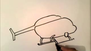 Download nasıl bir helikopter çizmek için Video