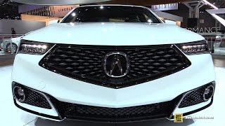 Download 2018 Acura TLX A-Spec - Exterior and Interior Walkaround - Debut at 2017 New York Auto Show Video
