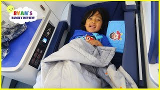 Download Ryan's first Business Class Airplane Ride To Japan + Japan Hotel Tour!!! Video