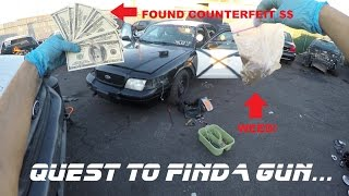 Download Searching Police Cars Found Counterfeit Money! Ford Crown Vic Cop Auto Explore Video