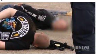 Download Bikies Arrested in Raid - Wetherill Park, Sydney (2015) Video