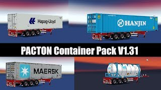 Download ✅ ETS2 - PACTON Container Pack (V1.31) Video