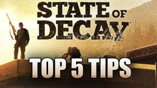 Download State of Decay (SOD) Top 5 Tips & Tricks for Beginners How To Repair/Heal/Survive Xbox360/PC Video
