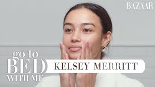 Download Victoria's Secret Model Kelsey Merritt's Nighttime Skincare Routine | Go To Bed With Me Video