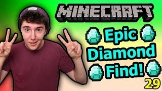 Download Epic Diamond Find - Minecraft [29] Video