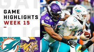 Download Dolphins vs. Vikings Week 15 Highlights | NFL 2018 Video