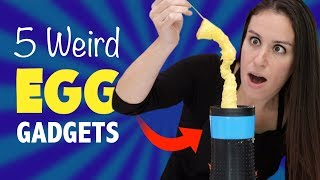 Download 5 WEIRD EGG 🍳 GADGETS - TEST KITCHEN Video