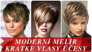 Download Moderní melir kratke vlasy účesy Video