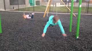 Download Lily's Swing Fail Video