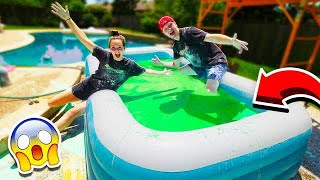Download MAKING 10,000 POUNDS OF OOBLECK IN A POOL! Video