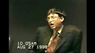Download United States v. Microsoft: Deposition by Bill Gates, part 1. Video