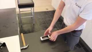 Download Hammer Test / Drop Test of new ZAGG invisibleSHIELD Glass on iPhone 5S Video