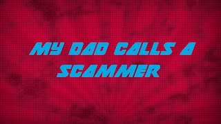 Download A Scammer with a Heart?! (FT. My Dad) Video