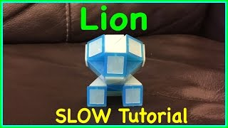 Download Smiggle Snake Puzzle or Rubik's Twist Tutorial: How to Make a Lion Shape SLOW Step by Step Video