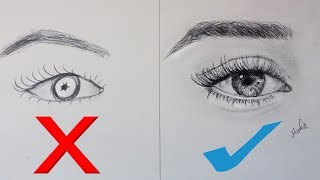 Download Adım Adım Gerçekçi Göz Çizimi -How To Draw a Realistic Eye Video